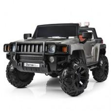 Детский электромобиль Джип Bambi M 3830 EBLRS-11 Hummer, двухместный, серебристый