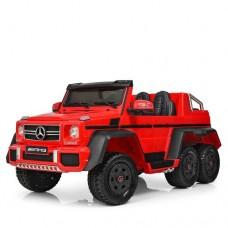 Детский электромобиль Джип Bambi M 3962 ABLR-3 Mercedes, красный