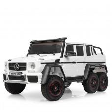 Детский электромобиль Джип Bambi M 3971 EBLR-1 Mercedes, двухместный, белый