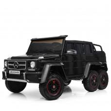 Детский электромобиль Джип Bambi M 3971 EBLR-2 Mercedes, двухместный, черный