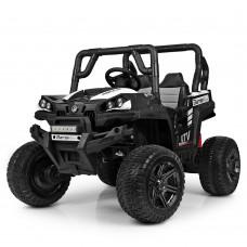 Детский электромобиль Джип Bambi M 3983 EBLR-1 Багги, бело-черный
