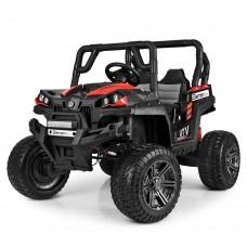 Детский электромобиль Джип Bambi M 3983 EBLR-3 Багги, красно-черный