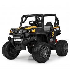 Детский электромобиль Джип Bambi M 3983 EBLR-6 Багги, желто-черный