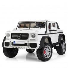 Детский электромобиль Джип Bambi M 4000 EBLR-1 Mercedes-Maybach Landaulet G650, двухместный, белый