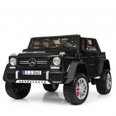 Детский электромобиль Джип Bambi M 4000 EBLR-2 Mercedes-Maybach Landaulet G650, двухместный, черный