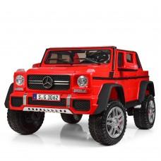 Детский электромобиль Джип Bambi M 4000 EBLR-3 Mercedes-Maybach Landaulet G650, двухместный, красный