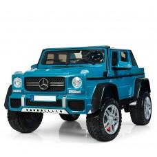 Детский электромобиль Джип Bambi M 4000 EBLR-4 Mercedes-Maybach Landaulet G650, двухместный, синий