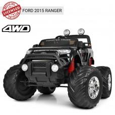 Детский электромобиль Джип Bambi M 4013 EBLRS-2 Ford Ranger (Monster Truck), черный