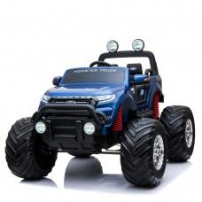 Детский электромобиль Джип Bambi M 4013 EBLRS-4 Ford Ranger (Monster Truck), синий