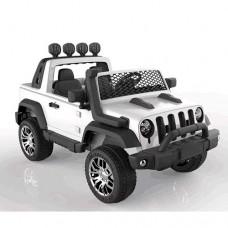 Детский электромобиль Джип Bambi M 4061 EBLR-1 4WD  Jeep, двухместный, белый