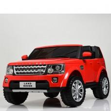 Детский электромобиль Джип Bambi M 4063 EBLR-3 Land Rover, двухместный, красный