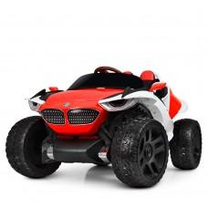 Детский электромобиль Джип Bambi M 4064 EBLR-3 4WD BMW, красный