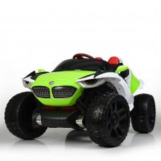 Детский электромобиль Джип Bambi M 4064 EBLR-5 4WD BMW, зеленый