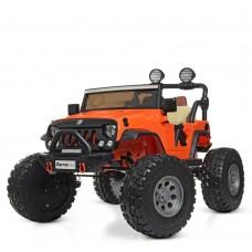 Детский электромобиль Джип Bambi M 4077 EBLR-7 Багги, двухместный, оранжевый
