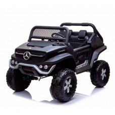 Детский электромобиль Джип Bambi M 4133 EBLRS-2 Mercedes, двухместный, черный