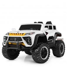 Детский электромобиль Джип Bambi M 4138 EBLR-1 Jeep, белый