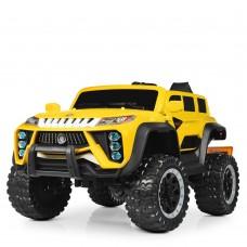 Детский электромобиль Джип Bambi M 4138 EBLR-6 Jeep, желтый