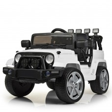 Детский электромобиль Джип Bambi M 4148 EBLR-1 Jeep, белый