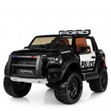 Детский электромобиль Джип Bambi M 4173 EBLR-2 Ford Police, черный