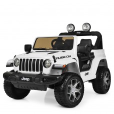 Детский электромобиль Джип Bambi M 4176 EBLR-1 Jeep, белый