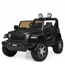 Детский электромобиль Джип Bambi M 4176 EBLR-2 Jeep, черный