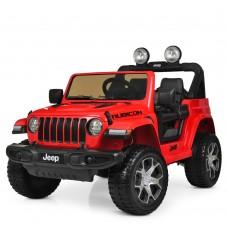 Детский электромобиль Джип Bambi M 4176 EBLR-3 Jeep, красный
