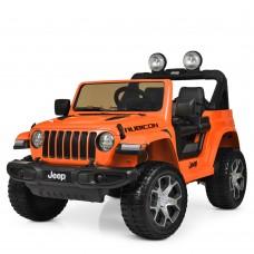 Детский электромобиль Джип Bambi M 4176 EBLR-7 Jeep, оранжевый