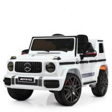 Детский электромобиль Джип Bambi M 4179 EBLR-1 Mercedes, белый