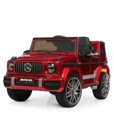 Детский электромобиль Джип Bambi M 4179 EBLRS-3 Mercedes AMG G63 Гелендваген, красный