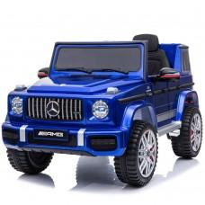 Детский электромобиль Джип Bambi M 4179 EBLRS-4 Mercedes AMG G63 Гелендваген, синий