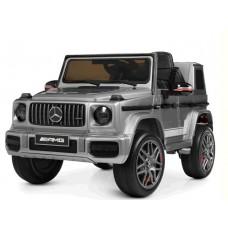 Детский электромобиль Джип Bambi M 4180 EBLRS-11 Mercedes, серый