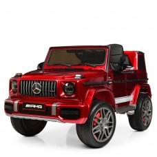 Детский электромобиль Джип Bambi M 4180 EBLRS-3 Mercedes, красный
