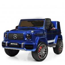 Детский электромобиль Джип Bambi M 4180 EBLRS-4 Mercedes, синий