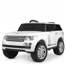 Детский электромобиль Джип Bambi M 4199 EBLR-1 Land Rover, белый