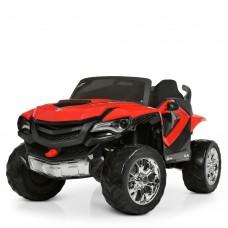 Детский электромобиль Джип Bambi M 4201 EBLR-3 Ford Ranger (Monster Truck), красный