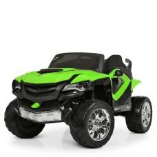 Детский электромобиль Джип Bambi M 4201 EBLR-5 Ford Ranger (Monster Truck), зеленый