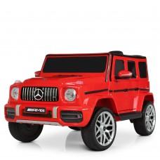 Детский электромобиль Джип Bambi M 4214 EBLR-3 Mercedes AMG G63 Гелендваген, красный