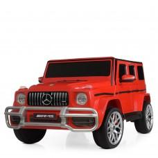 Детский электромобиль Джип Bambi M 4259 EBLR-3 Mercedes,  двухместный, красный