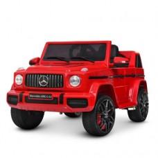 Детский электромобиль Джип Bambi M 4280 EBLR-3 Mercedes AMG G63 Гелендваген, красный