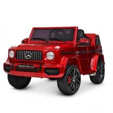 Детский электромобиль Джип Bambi M 4280 EBLRS-3 Mercedes AMG G63 Гелендваген, красный