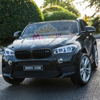 Детский электромобиль Джип Bambi JJ 2199 EBLR-2 BMW X6M, черный