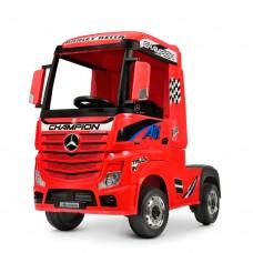 Детский электромобиль Грузовик Bambi M 4208 EBLR-3 Mercedes Actros, красный