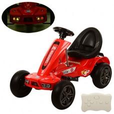 Детский электромобиль Карт Bambi M 1558 ER-3 Champion, красный