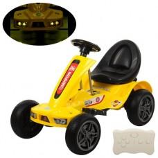 Детский электромобиль Карт Bambi M 1558 ER-6 Champion, желтый