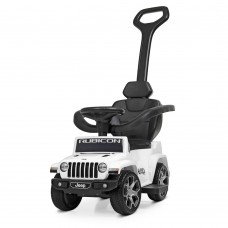 Детский электромобиль каталка толокар Bambi M 4247 EL-1 Jeep, белый