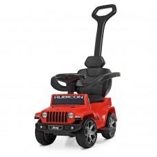 Детский электромобиль каталка толокар Bambi M 4247 EL-3 Jeep, красный