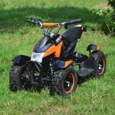 Детский квадроцикл PROFI HB-6 EATV 800-2-7, черно-оранжевый