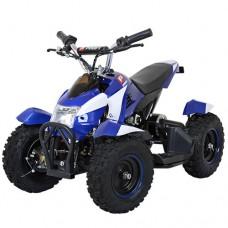 Детский квадроцикл PROFI HB-6 EATV 800-4-1, бело-синий