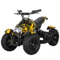 Детский квадроцикл PROFI HB-6 EATV 800-13, желтый камуфляж
