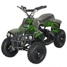 Детский квадроцикл PROFI HB-EATV 800C-10, зеленый камуфляж